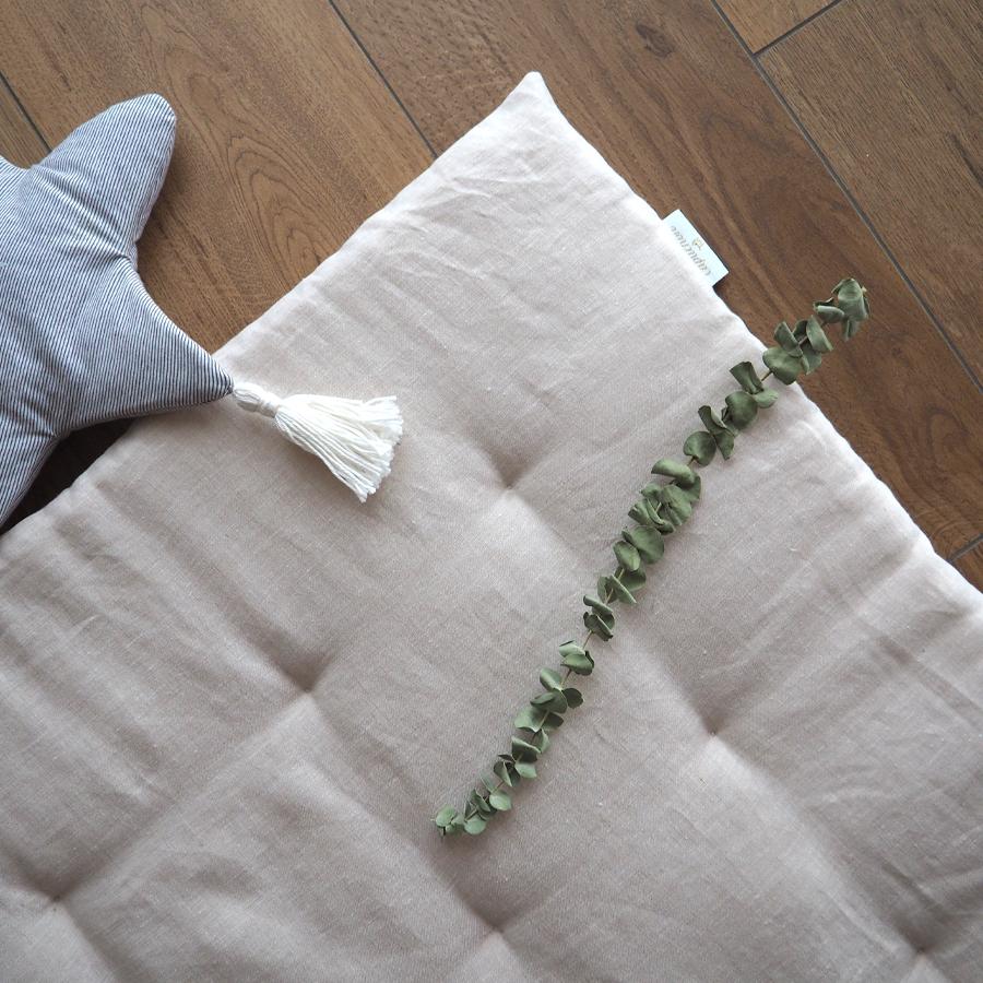 tapis naturel eucalyptus
